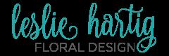 Leslie Hartig Floral Design Logo